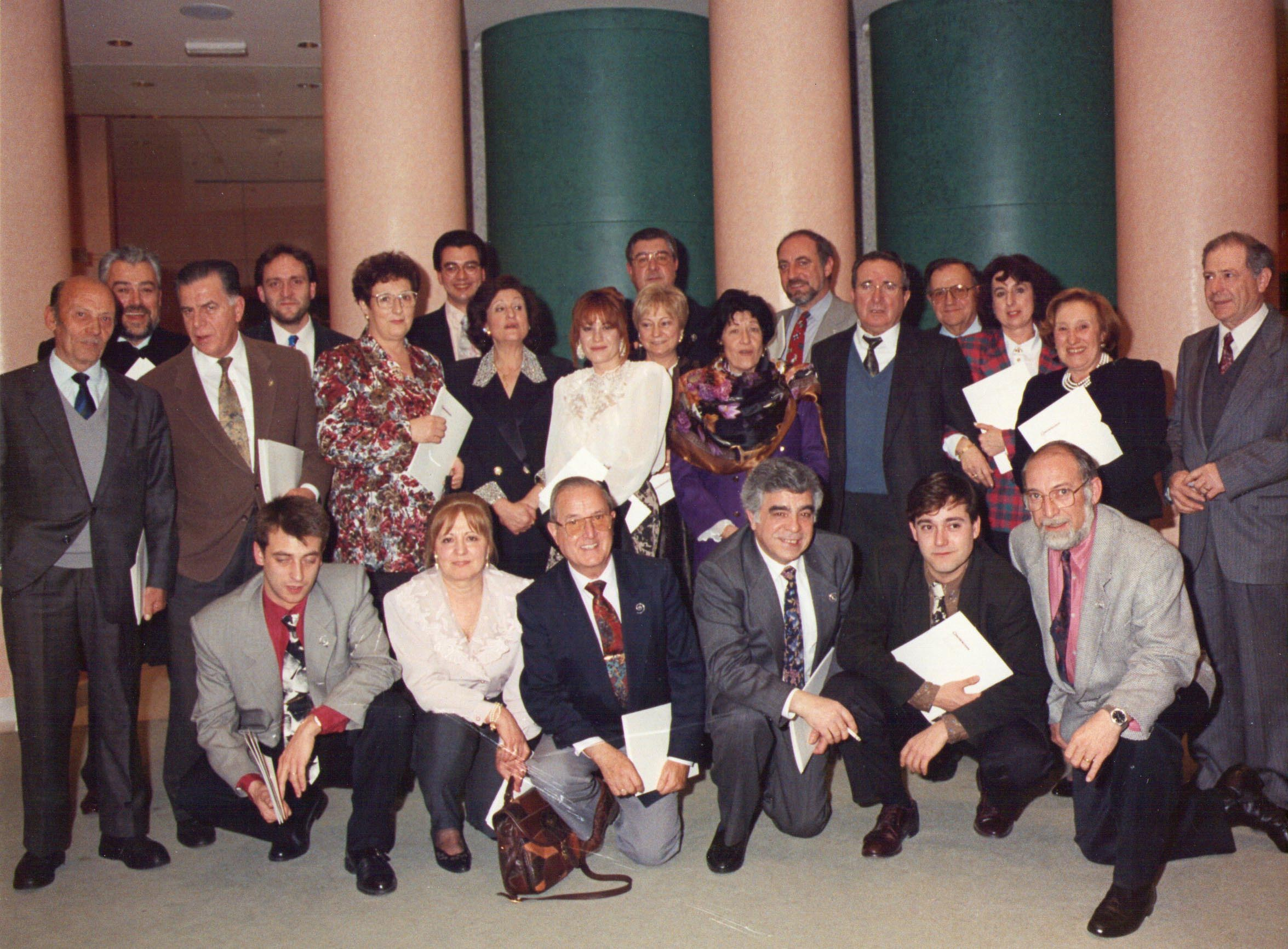 Quadre de Veus meeting in 1990